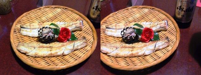 日本料理 桜美琴 うなちり①(平行法)