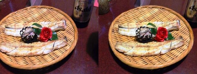 日本料理 桜美琴 うなちり①(交差法)