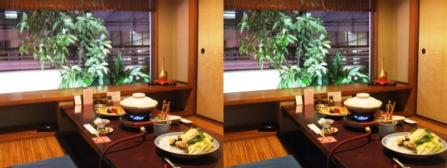 日本料理 桜美琴 離宮の間(交差法)