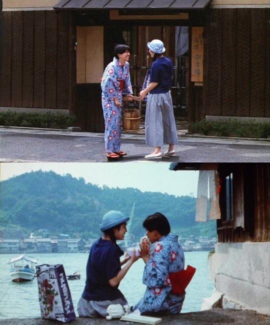 「ふたり」で撮影された「魚信」