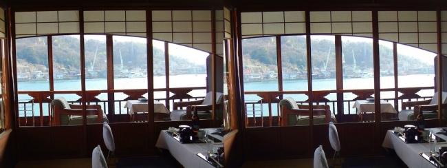 料亭旅館 魚信 須磨の間①(平行法)