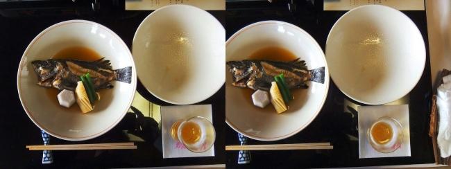 料亭旅館 魚信 メバル煮付け(平行法)
