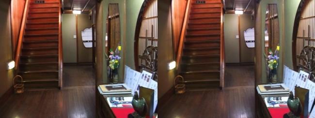 料亭旅館 魚信 廊下(平行法)