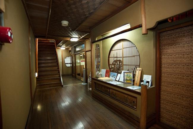 料亭旅館 魚信 廊下