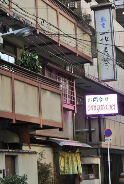 日本料理 桜美琴 看板