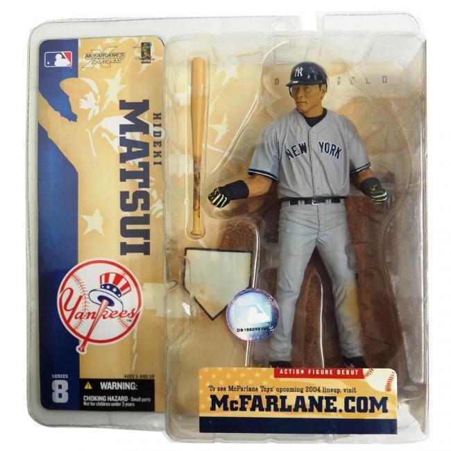MLB ヤンキース 松井秀喜 フィギュア シリーズ8 McFarlane ロード