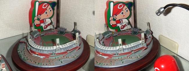 MOTOs Museum 球場展示館 マツダスタジアム②(平行法)