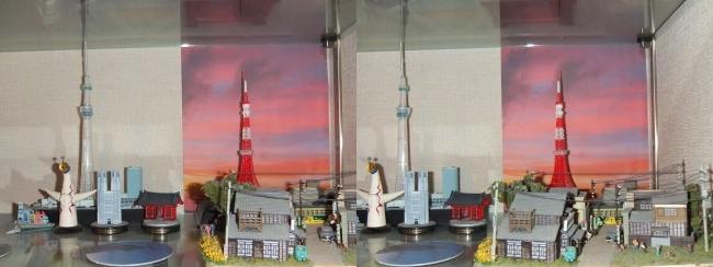 MOTOs Museum ランドマーク展示(平行法)