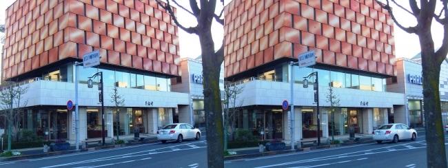 たねや 近江八幡店(交差法)