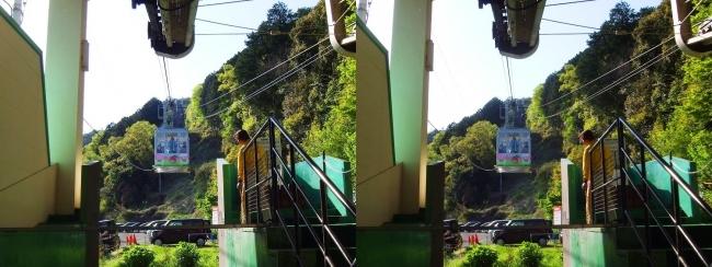 八幡山ロープウェー①(交差法)