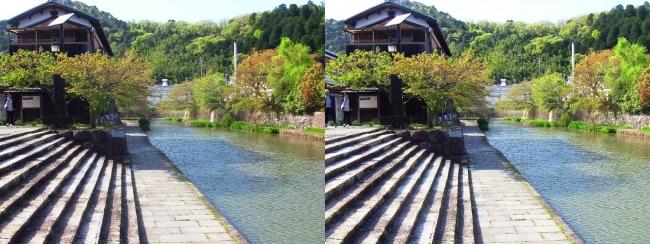 八幡堀①(平行法)