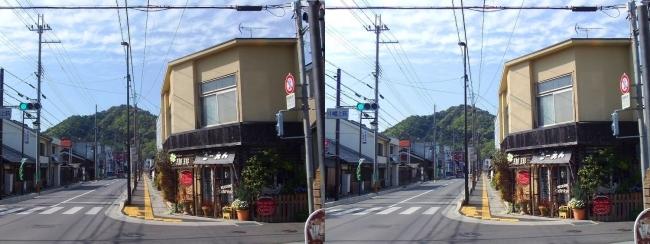 小幡上筋からの八幡山(平行法)