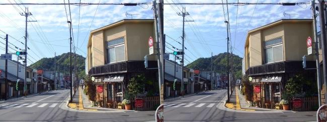 小幡上筋からの八幡山(交差法)