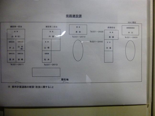 道路建設課席 (2)