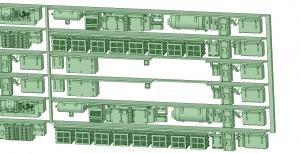 6000系床下機器 6013F 8連【武蔵模型工房 Nゲージ 鉄道模型】-1