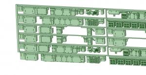 6000系床下機器 6015F 8連【武蔵模型工房 Nゲージ 鉄道模型】-2