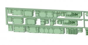 6000系床下機器 6021F 3連【武蔵模型工房 Nゲージ 鉄道模型】-2