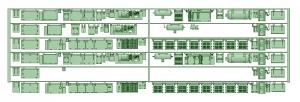 6000系床下機器 6025_6026F 6連【武蔵模型工房 Nゲージ 鉄道模型】