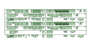 2300系床下機器 7連 2313F【武蔵模型工房 Nゲージ 鉄道模型】