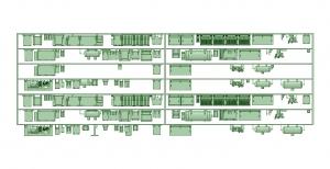 2300系床下機器 7連 2321F【武蔵模型工房 Nゲージ 鉄道模型】