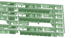6000系床下機器 神戸線初期タイプ 8連【武蔵模型工房 Nゲージ 鉄道模型】-1