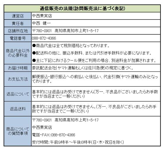 訪問販売法に基づく表記1