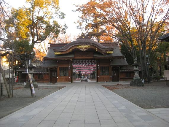 大國魂神社-大亀石鶴石・鼓楼07