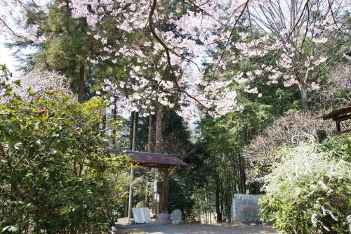 天神山荘入り口