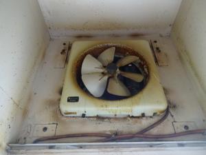 キッチン 奈良 ハウスクリーニング 換気扇