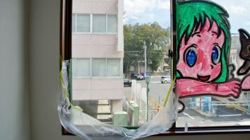 窓のイラスト消し作業! 後編 3