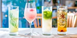 桜のワインクーラー