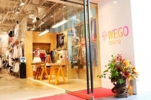 WEGO TOKYO原宿店