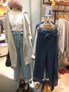 mysty woman 刺繍パンツ3