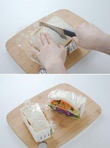 2サンドイッチを作る