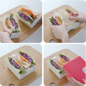 3サンドイッチを作る