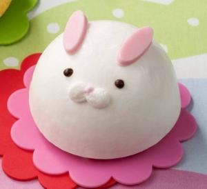 うさぎのムースケーキ