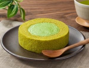 プレミアム熟成宇治抹茶のロールケーキ