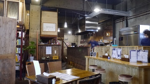 スープカリー藍色 西岡アンダーザブリッジ本店