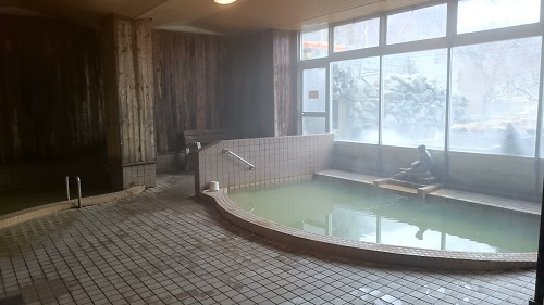 定山渓温泉 ホテル山水 日帰り入浴