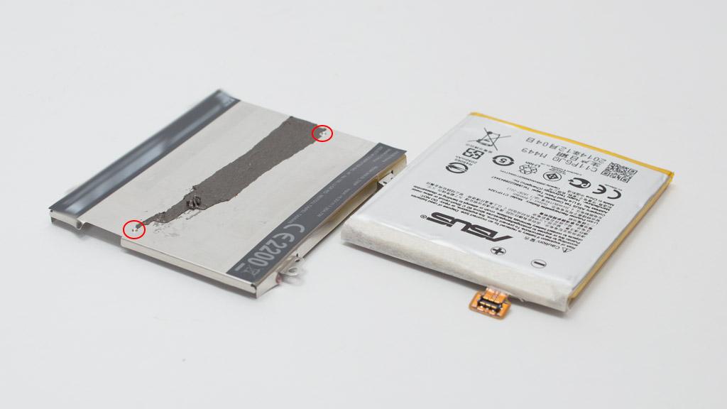 ZenFone 5 (A500KL) 電池交換