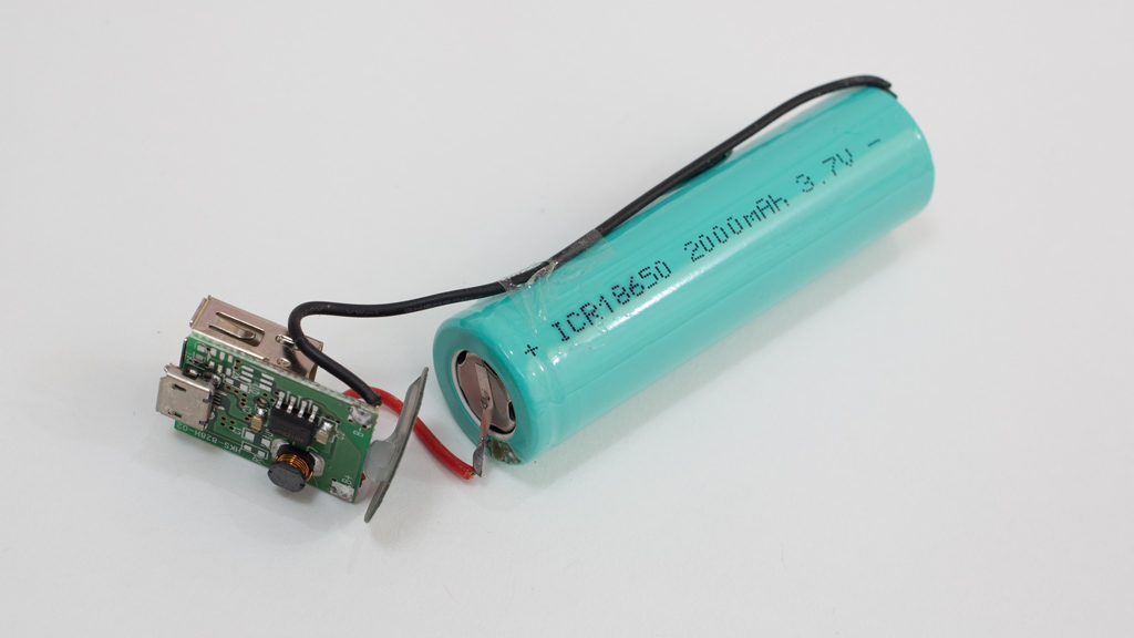 300円充電器のリチュームイオン充電池の交換