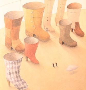 0407_赤い靴を履いた猫