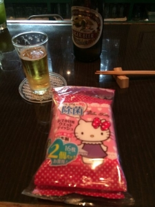 425いつも持参の除菌シート!(^^)!