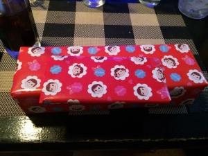 503カラオケの景品!(^^)!チョコとクッキー!(^^)!