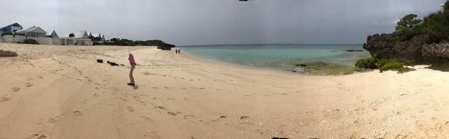 与論Pビーチ