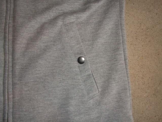 NORULE Stand collar jk gray4
