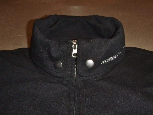 NORULE Stand collar jk black1