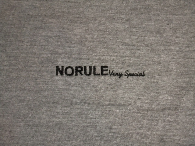 NORULE Perverse LTee Gray3