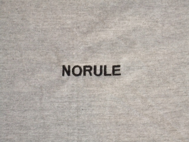 NORULE VerySpecial SS Tee Gray4