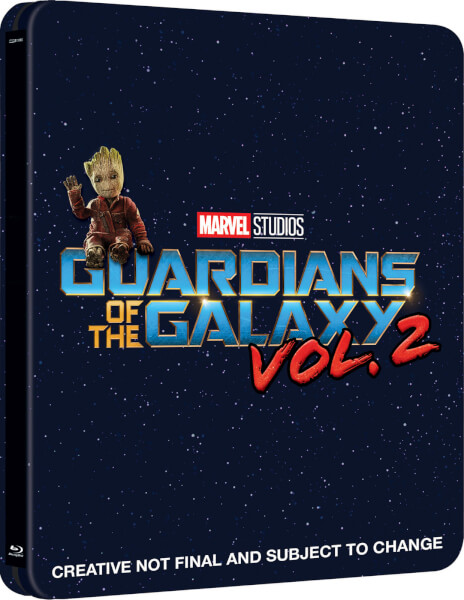 Guardians of the Galaxy Vol. 2 3D Zavvi スチールブック steelbook